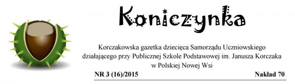 Koniczynka Wrzesień 2015