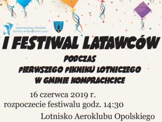 I Festiwal Latawców - plakat