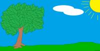 Szymon Mazur klasa 3 Wiosenne Drzewo