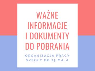 Ważne informacje i dokumenty do pobrania